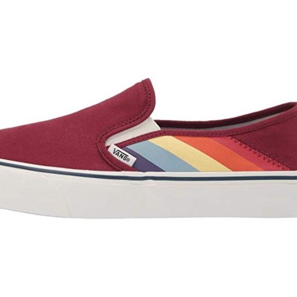 Vans Rad Rainbow Slipon Sf Womens Shoes